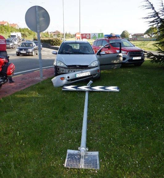 Investigado por conducir con el carné retirado hasta 2031 y dar positivo tras sufrir un accidente
