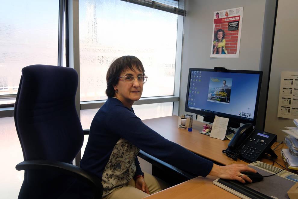 """Adriana Palomo: """"Los ciegos no somos personas frágiles"""""""
