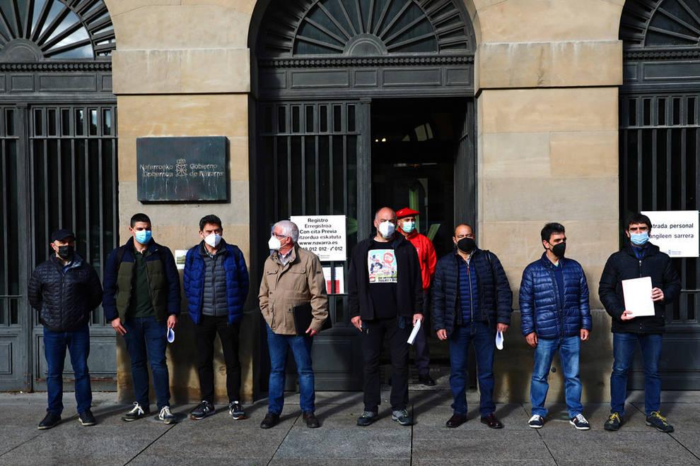 Los sindicatos instan a reorientar el transporte ferroviario en Navarra