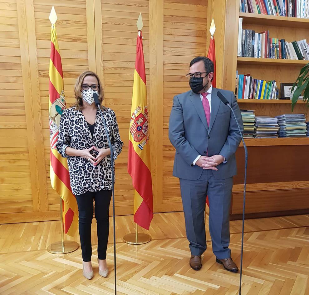 Navarra y Aragón celebrarán una cumbre para actualizar e incrementar su colaboración