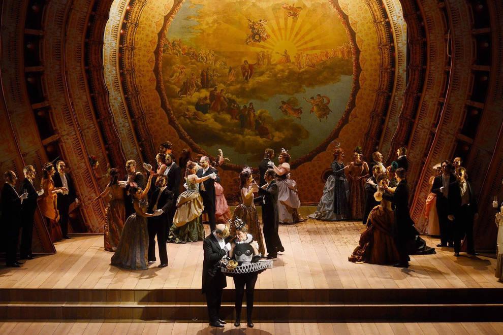 Un ballo in maschera de Verdi, único título de ópera que se representará de forma escenificada.