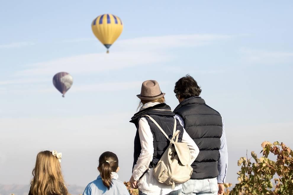Fotografía globos turismo La Rioja
