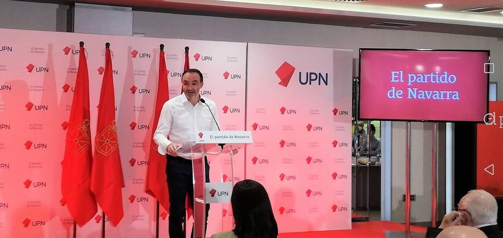 Javier Esparza, presidente de UPN.
