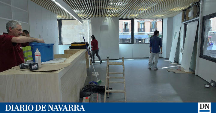 Pamplona estrena su primera oficina municipal estable de for Oficina turismo tudela