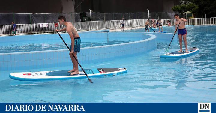 Dnplus pamplona una piscina con olas para el club for Piscinas amaya