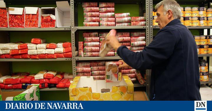 El banco de alimentos llama a la 39 gran recogida 39 hoy y ma ana noticias de navarra en diario de - Banco de alimentos de navarra ...
