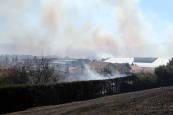Incendio en Ororbia