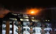 Incendio en el hospital universitario de Bochum (Alemania)