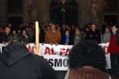 Manifestación contra el fascismo en Pamplona