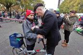 Marcha en apoyo al uso de la bicicleta