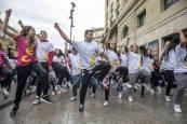 'Flashmob' joven del INDJ