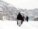 Temporal de frío y nieve en Afganistán