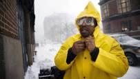 La nieve colapsa Nueva York