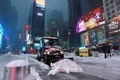 Tormenta de nieve en el nordeste de EE UU