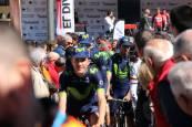 Salida de la Vuelta al País Vasco en Pamplona