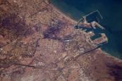 Así se ven Madrid, Barcelona, Valencia y Sevilla desde el espacio