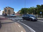 Pasos de peatones peligrosos en Pamplona detectados por los lectores