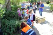 Fiesta del día del árbol en Tudela