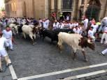 Imágenes del sexto encierro de San Fermín