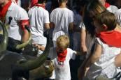 Todas las imágenes del encierro txiki del día 13
