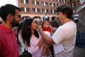 Entrega de pañuelos a los niños nacidos en 2016 en Tudela