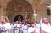 Procesión en fiestas de Los Arcos