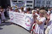 Homenaje en Burlada a las mujeres asesinadas