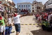 Campeonato de lanzamiento de melones en Ablitas