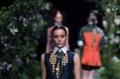 Desfile de Alvarno en la Mercedes - Benz Fashion Week Madrid