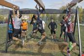 500 'gladiadores' por el Arga en el 'Gladiator's Day' 2017