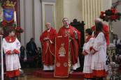 Primera misa de la escalera de San Fermín