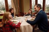 La vida familiar de los Reyes en Zarzuela