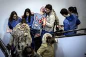 Simulacro de emergencia en la Universidad de Navarra
