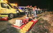 Accidente de un autobús en Lerma (Burgos)