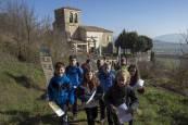 Salida infantil a Cendea de Olza, de la Federación Navarra de Montaña