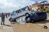Tornado en Puerto Sherry