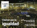 Marea feminista en Navarra, en El Diario DN+