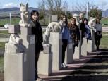Imágenes de las esculturas nuevas de Ardoi