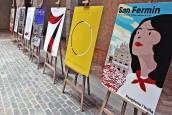 Carteles finalistas de San Fermín 2018