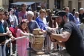 Feria de artesanía en Alsasua