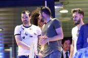 Jugadores de Osasuna en el Mutua Madrid Open