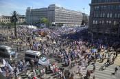 Protestas en Polonia