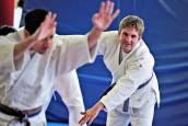 Entrenamiento de Judo en Larrabide para personas con discapacidad intelectual