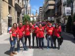 Afición rojilla en Valladolid