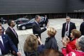 El Rey inaugura el Congreso Internacional de Arquitectura en Pamplona. BUXENS
