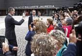 El Rey inaugura el Congreso Internacional de Arquitectura en Pamplona
