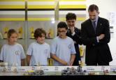 Fotos de la visita de Felipe VI a MTorres