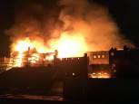 Arde por segunda vez en cuatro años la Escuela de Arte de Glasgow