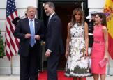 Trump recibe a los Reyes Felipe y Letizia en la Casa Blanca
