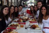 Fotos de los almuerzos del 6 de julio